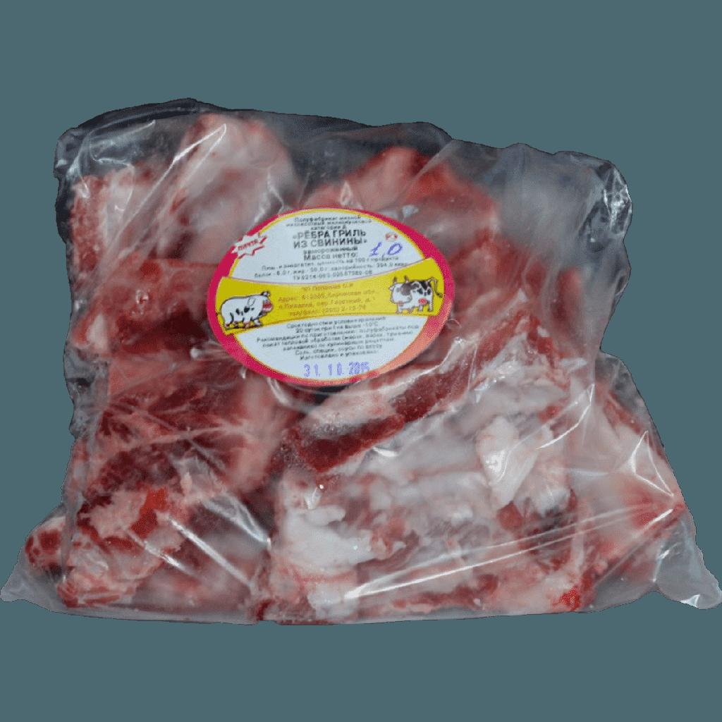 ребра гриль из свинины