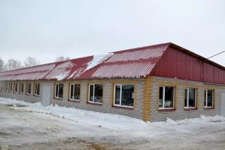 Компанией за 7 месяцев построен большой, просторный, комфортный новый цех!