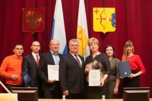 Награждение компании Мечта в Правительстве Кировской области