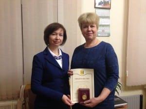 Памятный знак 80 лет Кировской области